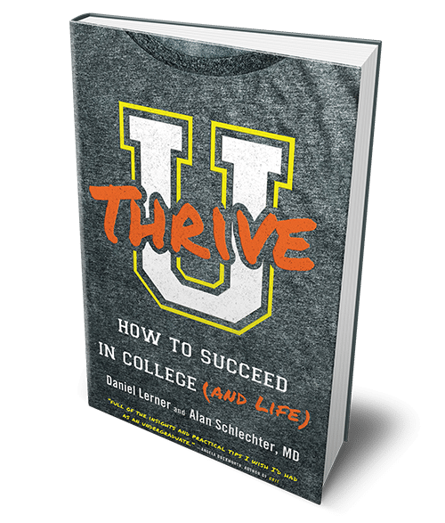 U Thrive, the new book by Daniel Lerner and Alan Schlecter, MD