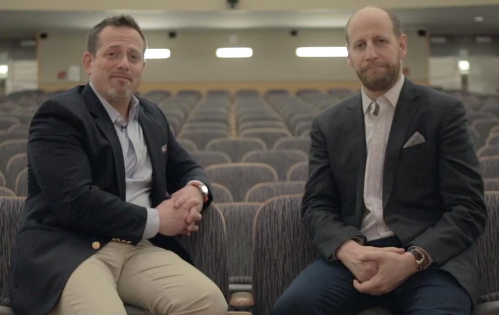 Dan Lerner and Alan Schlechtman, MD authors of U Thrive